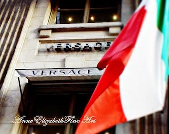 Fashion Photography ,Versace, New York,Shopping, Italian,Fashionista,Punk, 5th Avenue, Boutique Art, Dorm Decor,Boutique, Dorm,Bedroom Decor