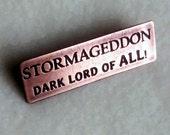 Copper Pin - Stormageddon