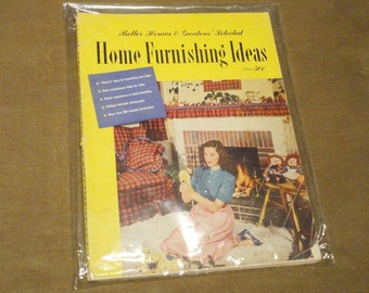 Complete Magazine 1950's Better Homes & And Gardens Home Furnishing Ideas Vintage Design Fashion Atomic Mid-Century Mad Men Eames RARE 50's