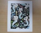 Sea Spectres Print