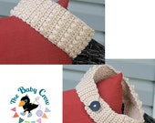 Bobble Ear Warmer Pattern  - Kids Size and Adult Size