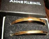 Anne Klein II Set of 2 Goldtone Bracelets w/ original box