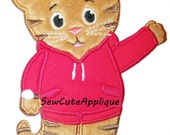 Daniel Tiger No Sew Applique Patch