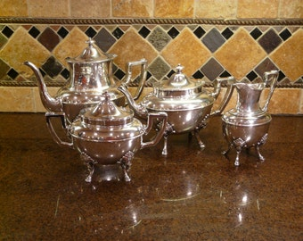 Rogers Smith and Company 1867 Silver Plate Hostess Set Antique