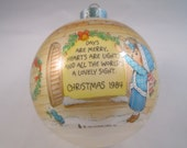 Days are Merry Christmas Collectible Keepsake Ornament 12th in Series Betsey Clark 1984 Hallmark Cards