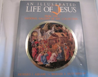 Jesus Illustrated Life National Gallery of Art Collection 1982 Christmas Story