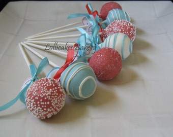 Birthday Cake Pops: Premium Cake Pops Made to Order with High Quality Ingredients.