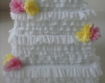 Wedding Cake Card Box Party Pinata