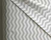 Chevron in Dove by Heather Bailey from the True Colors Collection - Freespirit Fabrics - ONE YARD Cut