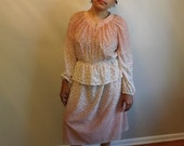 Sheer Vintage Two Piece Dress by Forever Young