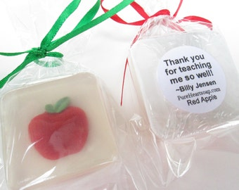 Apple Favors scented in Red Apple