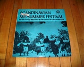 Scandinavian Midsummer Festival Record Album Walter Eriksson's Orchestra Vintage 1960s COL LP 215