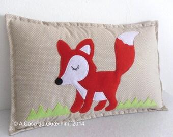 Decorative Pillow - Fox