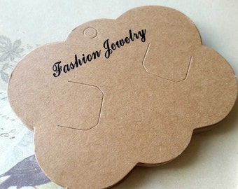 "69 x 87 mm Brown Color ""Handmade Product"" Paper Hang Tags (.mcn)"