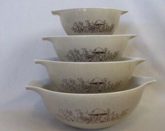 Pyrex Forest Fancies Cinderella Mixing Bowls