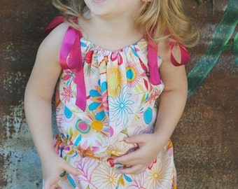 Sewing Pattern Romper, Pillowcase Bubble Romper, Baby, Infant, Toddler Romper Pattern, PDF Pattern