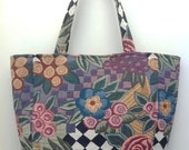 Floral Tapestry Market Tote