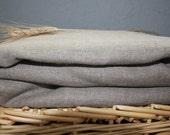 Flat Grey Gray Bed Linen Sheet Queen Eco friendly - Custom size