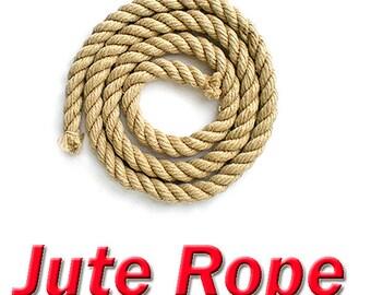 10mm  Jute rope Twine for Scratch post bag handles cloth liner cat pet toys Swing Manila Sisal Fender