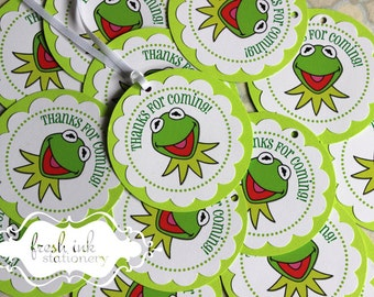 Kermit the Frog Favor Tags