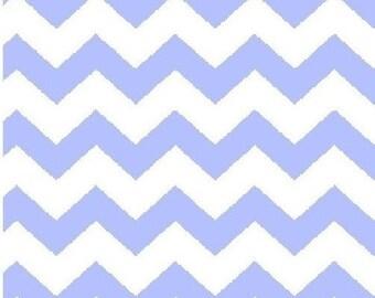 Fat Quarter, Chevron, Small Chevron Fabric, Blue and White Fabric, Light Blue Fabric, Chevron Fabric, 02282