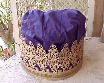 Beautiful Vintage Middle Eastern Crown-Most Unusual