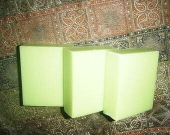 Green Apple Vegan Soap 3.5oz bar