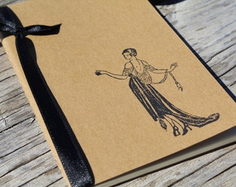 Roaring 20s Flapper Bridesmaid Gift  Journal