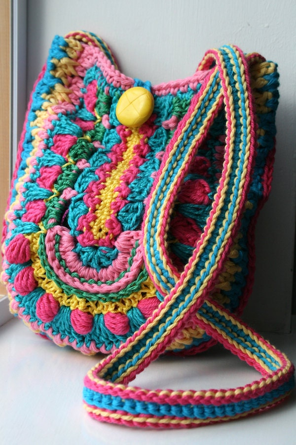 Bag Crochet Pattern Free Download : Crochet Pattern Crochet Bag