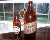 Beer Bottles Mid Century Goebel and Arrow c. 1930 1948