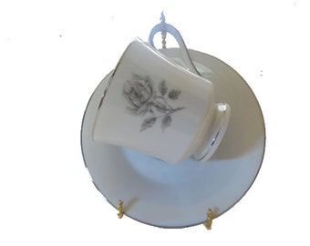 Tea Cup and Saucer, Free Shipping