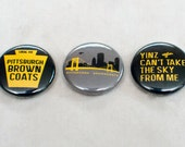 Pittsburgh Browncoats Standard Issue Button Pack