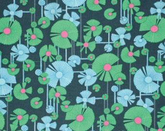 Glow - Wind Flower in Dusk - PWAB129.DUSKX -Amy Butler for Westminster/Freespirit Fabrics - 1/2 Yard