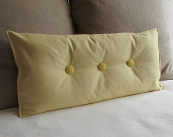 6x14 Inch Bolster Pillow In 100 Cotton Black By