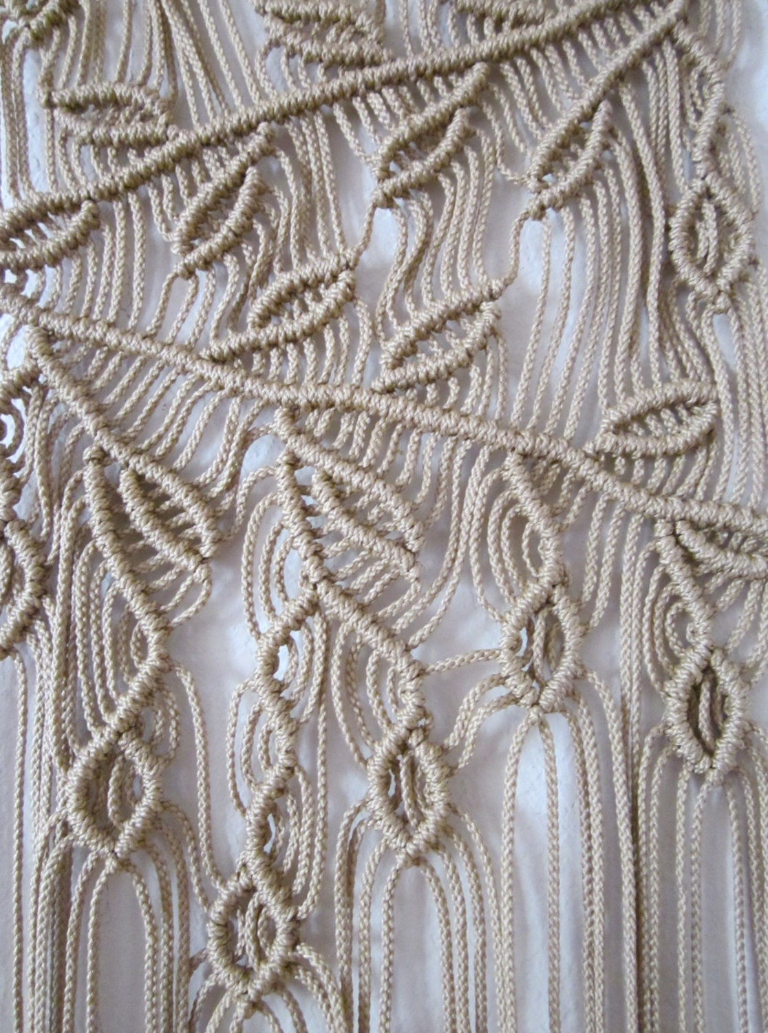 Handmade Macrame Wall Handing Branches Macrame Home Decor