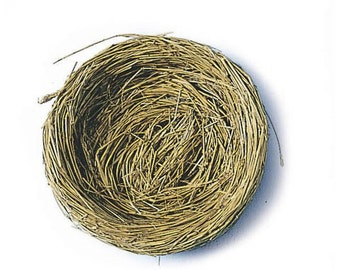 "2 Bird Nests with Wire (5"")"