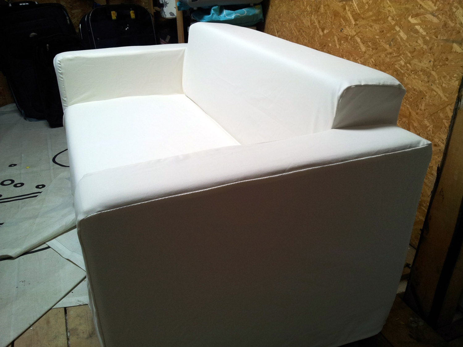 Custom Made Cover For Klobo Sofa From IKEA 100 Cotton