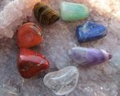 Chakra Stones Tumbled Kit V4