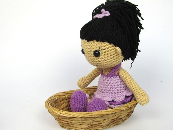 Anna Amigurumi Vol 1 : Doll Anna Amigurumi Crochet Pattern / PDF e-Book / Stuffed