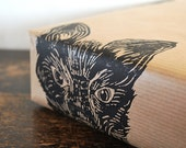 Red Fox Rustic Woodland Hand Printed Gift Wrap - Three Sheets