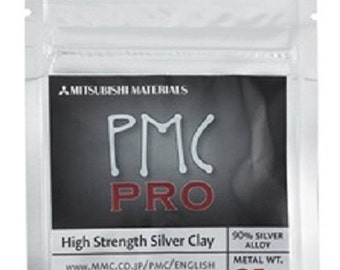 25 gram PMC Pro Silver Clay