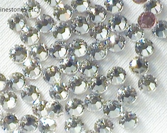 Crystal 12ss Swarovski Elements Rhinestones HOT FIX 144 pieces