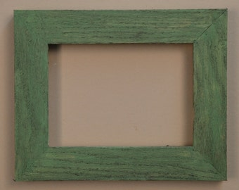 custom frame green oak 15 inch width made to order free shipping
