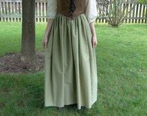 Renaissance Skirt, SAGE, Womens One-Size-Fits-All S, M, L, XL