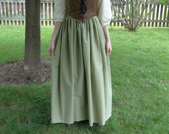 Renaissance Skirt, SAGE, Womens One-Size-Fits-All S, M, L, XL