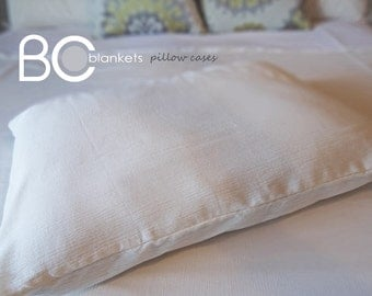 Set of 2 King Size Muslin Pillow Cases