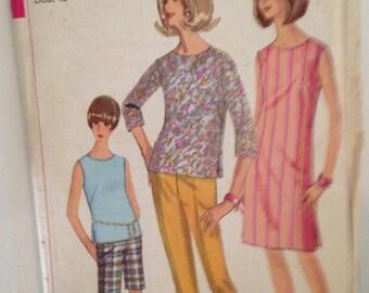 Vintage Simplicity Pattern # 6556 size 44