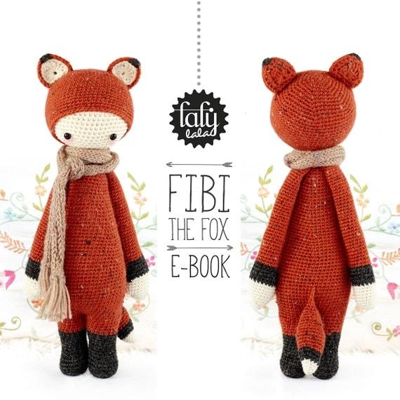 FIBI the fox lalylala crochet pattern / amigurumi