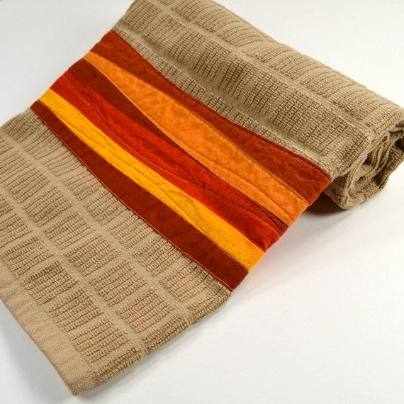 Red Kitchen Hand Towels: Orange Kitchen Towel Southwestern Dish Towel By TwiggyandOpal