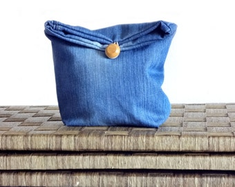 Jeans doorstop or multipurpose basket organizer